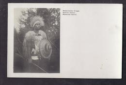 CPA ETHIOPIE - ABYSSINIE - Abyssinie : Guerrier Abyssin - TB PLAN Homme En Costume Et Arme - Libellé Allemand Anglais - Ethiopië