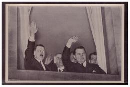 """DT- Reich (005745) Propaganda Sammelbild Deutschland Erwacht"""""""" Bild 110 Der Historische Augenblick Des Kabinetts Hitlers - Deutschland"""