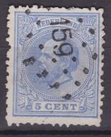 N° 19 : Puntstempels 159 - Periode 1852-1890 (Willem III)