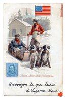 35404-ZE-LA POSTE AUX ETATS-UNIS-D'AMERIQUE(NORD)-----------dessin-animée-repro Timbre-drapeau - Stamps (pictures)