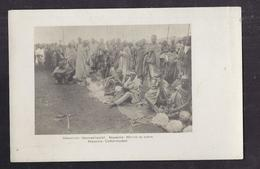 CPA ETHIOPIE - ABYSSINIE - Abyssinie - Marché Du Coton - SUPERBE PLAN ANIMATION - Etiopia