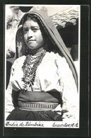 AK Judia De Zámbiza, Ecuador, Mädchen In Volkstracht Der Ureinwohner - Ecuador