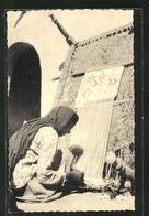 AK Pakistan, Teppichweberin Am Webstuhl - Ansichtskarten