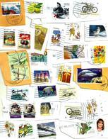 "AUSTRALIA LOT69 MIXTURE OF50+USED STAMPS SOME 2015/18 INC.NEW""ALPHABET E  ""$1,,AAT""SHIP""$1,ETC READ DESCRIPTION!! - Stamps"