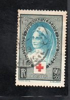 "France -  Timbre "" Anniversaire De La Croix Rouge Internationale N° 422 - Gebruikt"