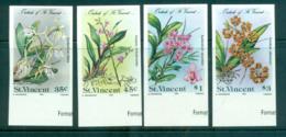 St Vincent 1985 Orchids, Flowers IMPERF MUH Lot68547 - St.Vincent (1979-...)