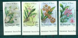 St Vincent 1985 Orchids, Flowers IMPERF MUH Lot68548 - St.Vincent (1979-...)