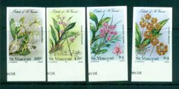St Vincent 1985 Orchids, Flowers IMPERF MUH Lot68784 - St.Vincent (1979-...)