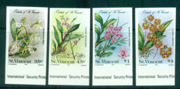 St Vincent 1985 Orchids, Flowers IMPERF MUH Lot68785 - St.Vincent (1979-...)