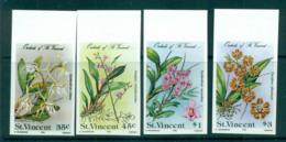 St Vincent 1985 Orchids, Flowers IMPERF MUH Lot68786 - St.Vincent (1979-...)