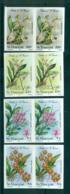 St Vincent 1985 Orchids, Flowers IMPERF Pairs MUH Lot68782 - St.Vincent (1979-...)