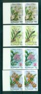 St Vincent 1985 Orchids, Flowers IMPERF Pairs MUH Lot68783 - St.Vincent (1979-...)