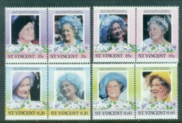 St Vincent 1985 Queen Mother 85th Birthday MUH - St.Vincent (1979-...)