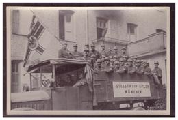 """DT- Reich (005784) Propaganda Sammelbild Deutschland Erwacht"""""""" Bild 25, Stoßtrupp Hitler 1923 - Briefe U. Dokumente"""