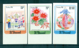 St Vincent 1985 Xmas IMPERF MUH Lot68538 - St.Vincent (1979-...)