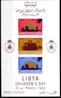 22.3.1964, Tag Des Kindes; Mi-Block 5, Postfrisch **, Los 50497 - Libyen