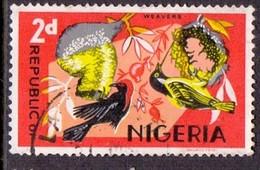 NIGERIA 1966 2d. Village Weavers, Used, SG 1965, C.v. £0.20 - Nigeria (1961-...)