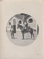 Rare Lot De 5 Photos De Cavaliers En Tenue époque Empire 1900-1918 - 1914-18