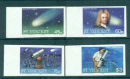 St Vincent 1986 Halley's Comet IMPERF MUH Lot68746 - St.Vincent (1979-...)