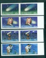St Vincent 1986 Halley's Comet IMPERF Pairs MUH Lot68752 - St.Vincent (1979-...)