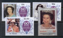 St Vincent 1986 QEII 60th Birthday MUH - St.Vincent (1979-...)