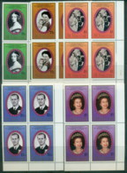 St Vincent 1987 Royal Portraits Blk 4  MUH - St.Vincent (1979-...)