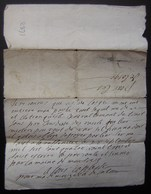 1683, Petit Billet à Déchiffrer - Manuscrits