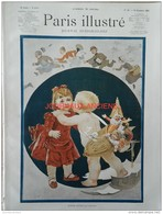 1888 PARIS ILLUSTRÉ N° 52 BONNE ANNÉE - ALPHONSE XIII ROI D'ESPAGNE - ETRENNES - PINCÉS Par Louis WAIN - Journaux - Quotidiens