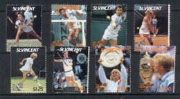 St Vincent 1987 Wimbledon Tennis Championships MUH - St.Vincent (1979-...)
