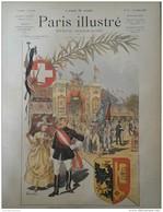 1887 LE TIR FEDERAL DE GENÈVE - PARIS ILLUSTRÉ - Dessins De GODEFROY - DUNKI - Simon DURAND - DESMOULIN - DEROY - Books, Magazines, Comics