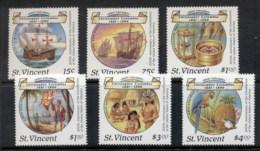 St Vincent 1988 Columbus, USA Bicentennial MUH - St.Vincent (1979-...)