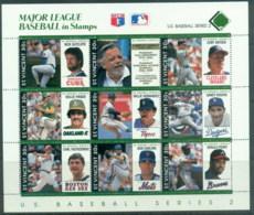 St Vincent 1989 Major League Baseball MS MUH - St.Vincent (1979-...)