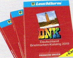 Deutschland Netto Briefmarken Katalog DNK 2019 New 10€ Germany D DR Saar Memel Danzig SBZ DDR Berlin AM/BI # 359323 - Germany