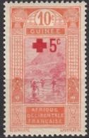 N° 80 - X - ( C 1308 ) - Guinée Française (1892-1944)