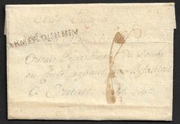 1793 - LAC -  ARMEE DU RHIN - CAMP DE WISSENBOURG   - LETTRE DE SOLDAT - Marcophilie (Lettres)