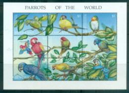 St Vincent 1995 Birds, Parrots Of The World MS MUH - St.Vincent (1979-...)