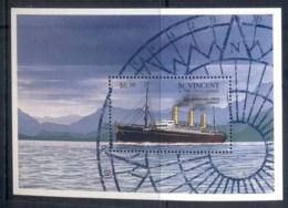 St Vincent 1996 Ships, SS Imperator MS MUH - St.Vincent (1979-...)