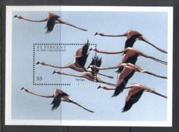 St Vincent 1997 Birds, Flamingo MS MUH - St.Vincent (1979-...)