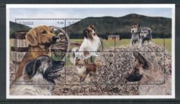 St Vincent 1998 Dogs Sheetlet MUH - St.Vincent (1979-...)