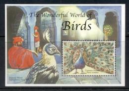 St Vincent 2000 Beautiful World Of Birds MS MUH - St.Vincent (1979-...)