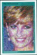 St Vincent 2000 Millenium, Princess Diana, A World Free Of Poverty MS MUH - St.Vincent (1979-...)