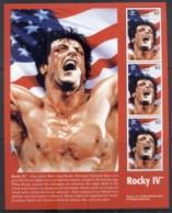 St Vincent 2000 Sylvester Stallone, Rocky IV Sheetlet - St.Vincent (1979-...)