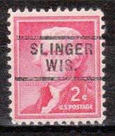 USA Precancel Vorausentwertung Preo, Locals Wisconsin, Slinger 729 - Vereinigte Staaten