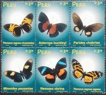 Peru 1999 Butterflies - Peru