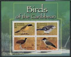 St Vincent 2007 Birds Of The Caribbean MS MUH - St.Vincent (1979-...)