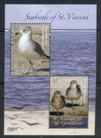 St Vincent 2009 Seabirds Of St Vincent MS MUH - St.Vincent (1979-...)
