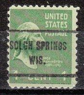 USA Precancel Vorausentwertung Preo, Locals Wisconsin, Solon Springs 713 - Vorausentwertungen