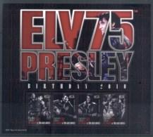 St Vincent 2010 Elvis Presley 75th Birthday MS MUH - St.Vincent (1979-...)