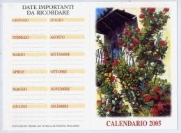 Calendarietto - Dipinti Con La Bocca Da Natalina Marcantoni - 2005 - Calendars