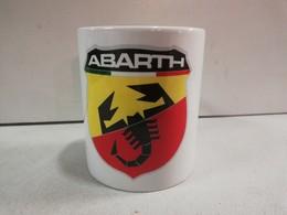 TASSE Ceramique MUG COFFEE NOEL ABARTH Autobianchi 112 Ritmo 124 131 600 850 500 - Cars